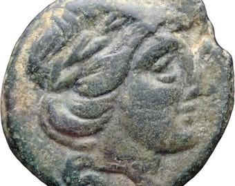 199 - 146 B.C.  Ancient Greek Thessaly Thessalian League Trichalkon Coin