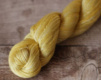 Mustard - Silk 2ply Yarn