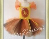 Kion Tutu Dress. Lion Guard Tutu Dress. Inspired Handmade Dress. Lion King Dress. The Lion Guard Dress. Kion Fancy Dress. Party Costume