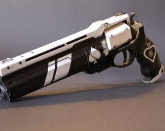 Destiny Ace of Spades 2 Part Hand Cannon Pistol Prop Finished/Painted