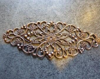 Antique copper connector