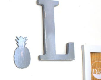 Letter L and its _ pineapple letter personnalisable_ personnalisable_mylittledecor color
