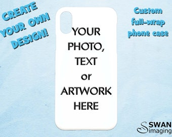 Custom iPhone X Case - Personalised iPhone X Case , Custom iPhone 8 case, Custom iPhone 8 Plus case - Personalized Photo Phone Case