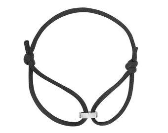 Bracelet cord, Inscription Love ring