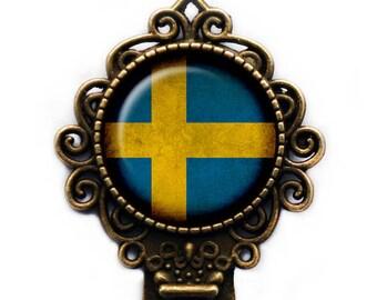 Sweden Swedish Flag Bookmark