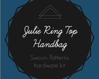Julie Ring Top Handbag - Swoon Hardware Kit