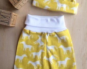 Sunshine Horses Baby Harem Pants