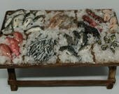 Fresh fish stand miniatur...