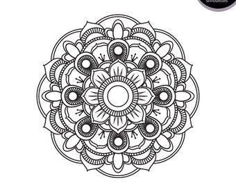 Mandala svg | Etsy