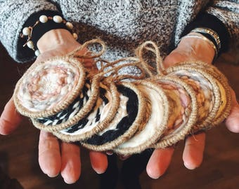 Handwoven Ornaments