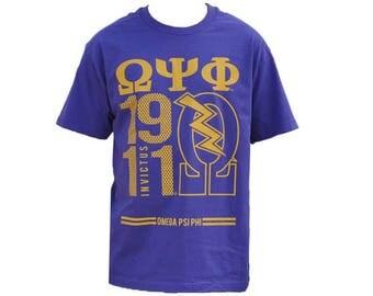 Omega Psi Phi - Tee Shirt, Size 2XL