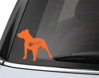 Personalized Dog Breed Sticker