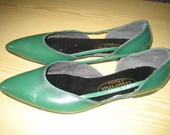 50s shoes Gr. 39 green rock n roll