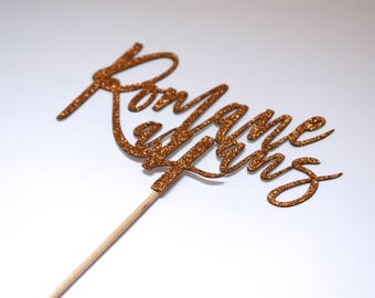Cake Topper name and age