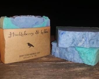 Berry Clean Soap- Handmade Soap, all natural soap, vegan soap, rustic soap, artisan soap, cold process soap