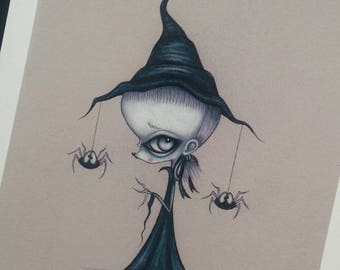 Witch - limited edition giclee fine art print