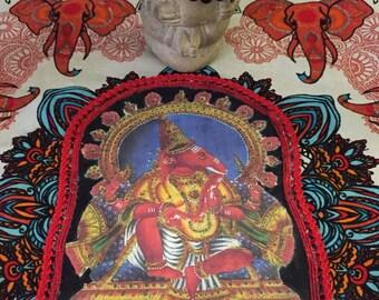 Ganesh colorful altar cloth