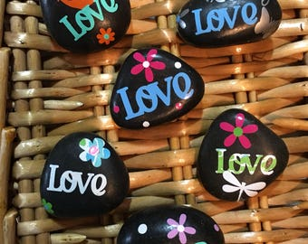 LOVE - Inspriational Stones / Rocks