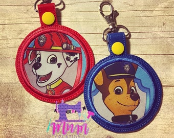 Pups key snaps