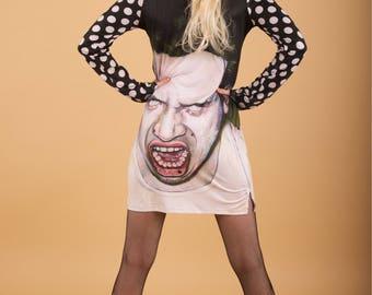 Zombie long sleeve dress