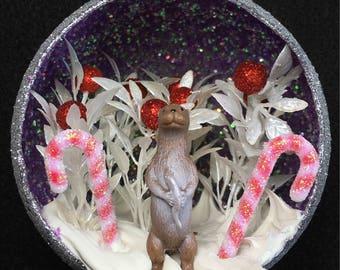 River Otter Christmas Tree Ornament