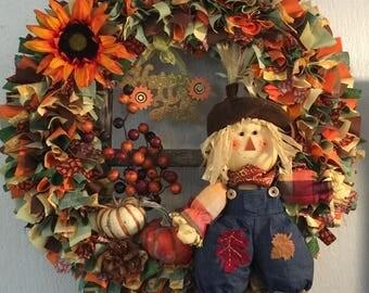 Fall Wreath, Large wreath