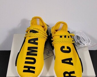 Adidas PW Pharrell NMD in yellow US 9.5
