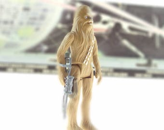 Star Wars Action Figure Chewbacca With Bowcaster 1995 Classic Collection