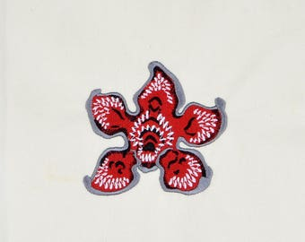 Stranger Things Demogorgon 4x4 machine embroidery design