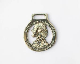 William Shakespeare Horse Brass - Equestrian Collectable Decorative Brass