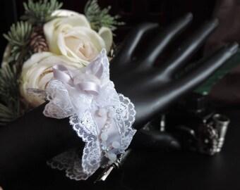 """Bracelet """"Queen of Winter"""" Satin"""
