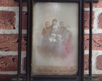 Antique Wooden Frame, Old Photography