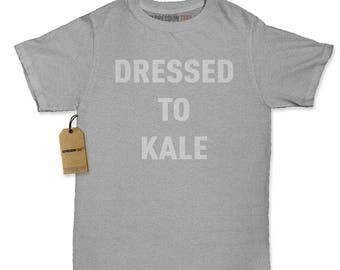 Dressed To Kale Womens T-shirt