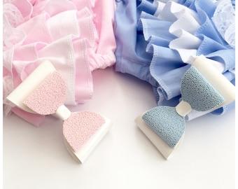 Lace romper - baby romper - romper - baby girl romper - vintage romper - lace - girls hair bow
