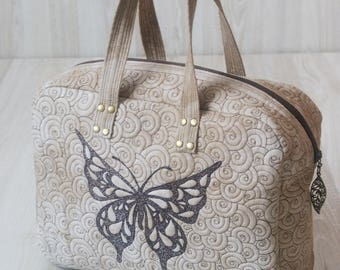 """Bag """"Butterfly"""". Womans Handbag. Quilted bag"""