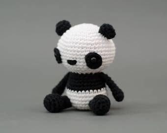 Puko der Panda - Häkelanleitung Deutsch