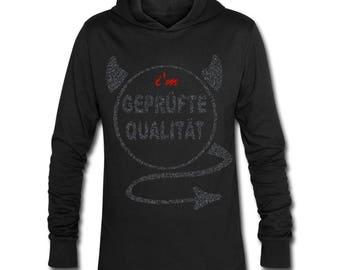 Apostel13 Unisex Hoodie-Shirt Hoody Geprüfte Qualität Black Blue Size: S-XXL