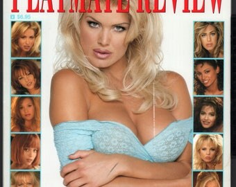 Mature Vintage Playboy Special Edition Mens Girlie Pinup Magazine : Playboy's Playmate Review May 1997