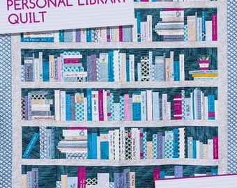 Personal Library Quilt Pattern by Heather Givans