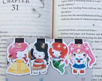 Sparkles Cosplay Bookmarks Set #1