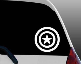 Captain America Avengers car decal sticker