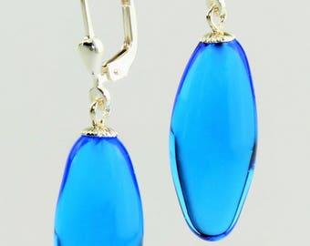Earrings olive / Brisur 925/000 Silver rhodium plated, Lambert