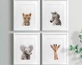 Safari Nursery decor set, PRINTABLE art, Safari animals decor, Baby animals, Nursery art, Nursery decor, Minimalist nursery, Modern nursery