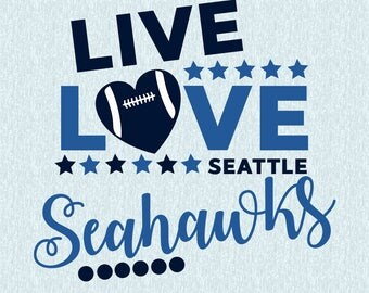Seattle Seahawks SVG,DXF,studio file,clipart,vector, seahawks cut file,live love seahawks, cricut, silhouette cameo