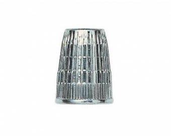 Thimble zamac silver 14 mm