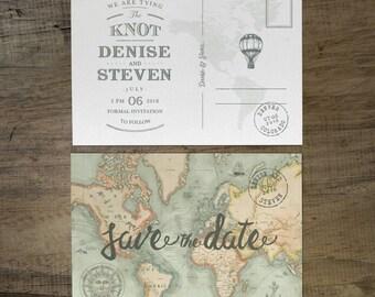 Nuestro Viaje Save the Date - Nuestro Viaje Suite -