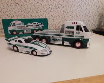 HESS Truck -2016- With a Drag Car