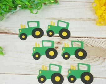 6 (2.5 inch) Tractor Die Cuts, Farm Tractor Die Cuts