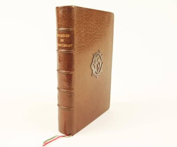 1883 fine binding, L'Imitation de Jesus-Christ (The Imitation of Christ), Thomas a Kempis