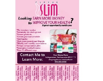 Plexus Printable Flyer, Plexus Worldwide
